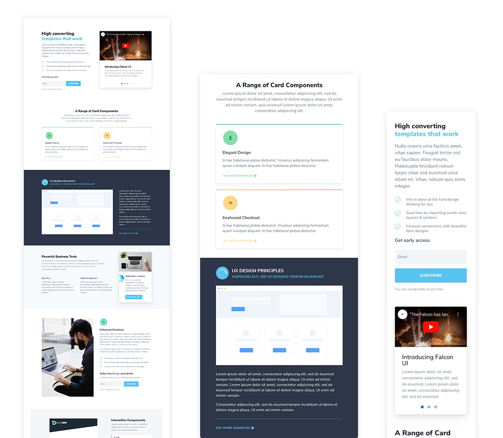 DiviWP Homepage Layout 2